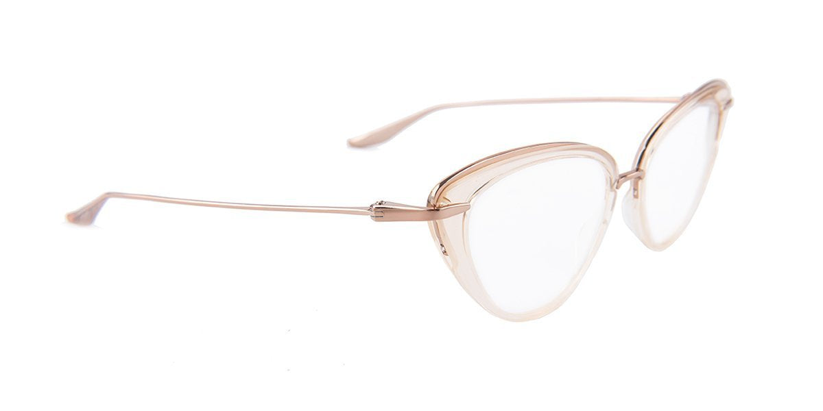 Dita - Lacquer Rose Cat-Eye Women Eyeglasses - 51mm-Eyeglasses-Designer Eyes