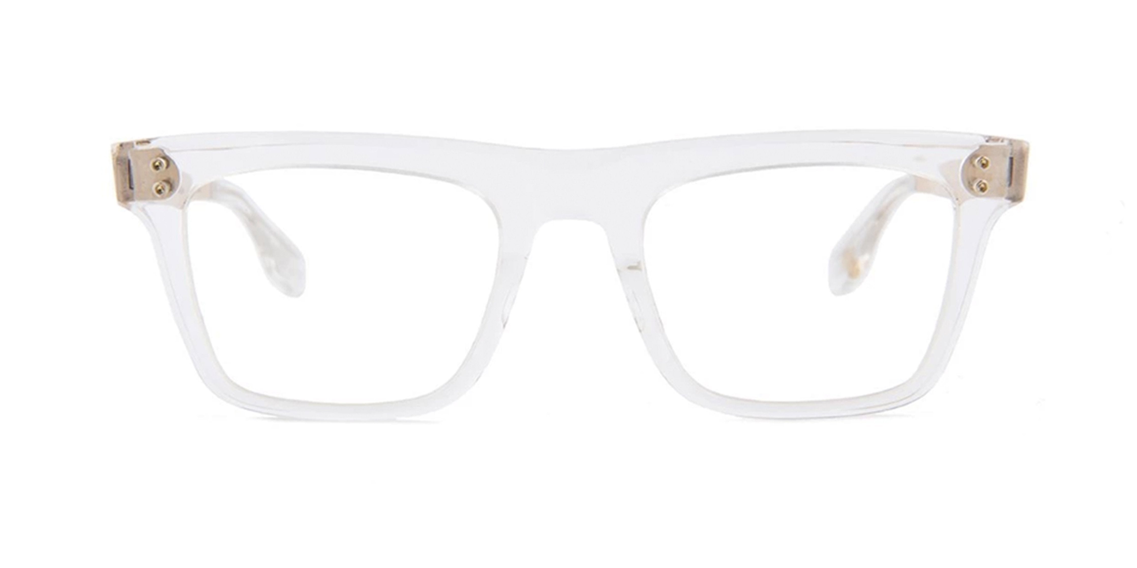 Dita - Telion Clear Square Men Eyeglasses - 51mm-Eyeglasses-Designer Eyes