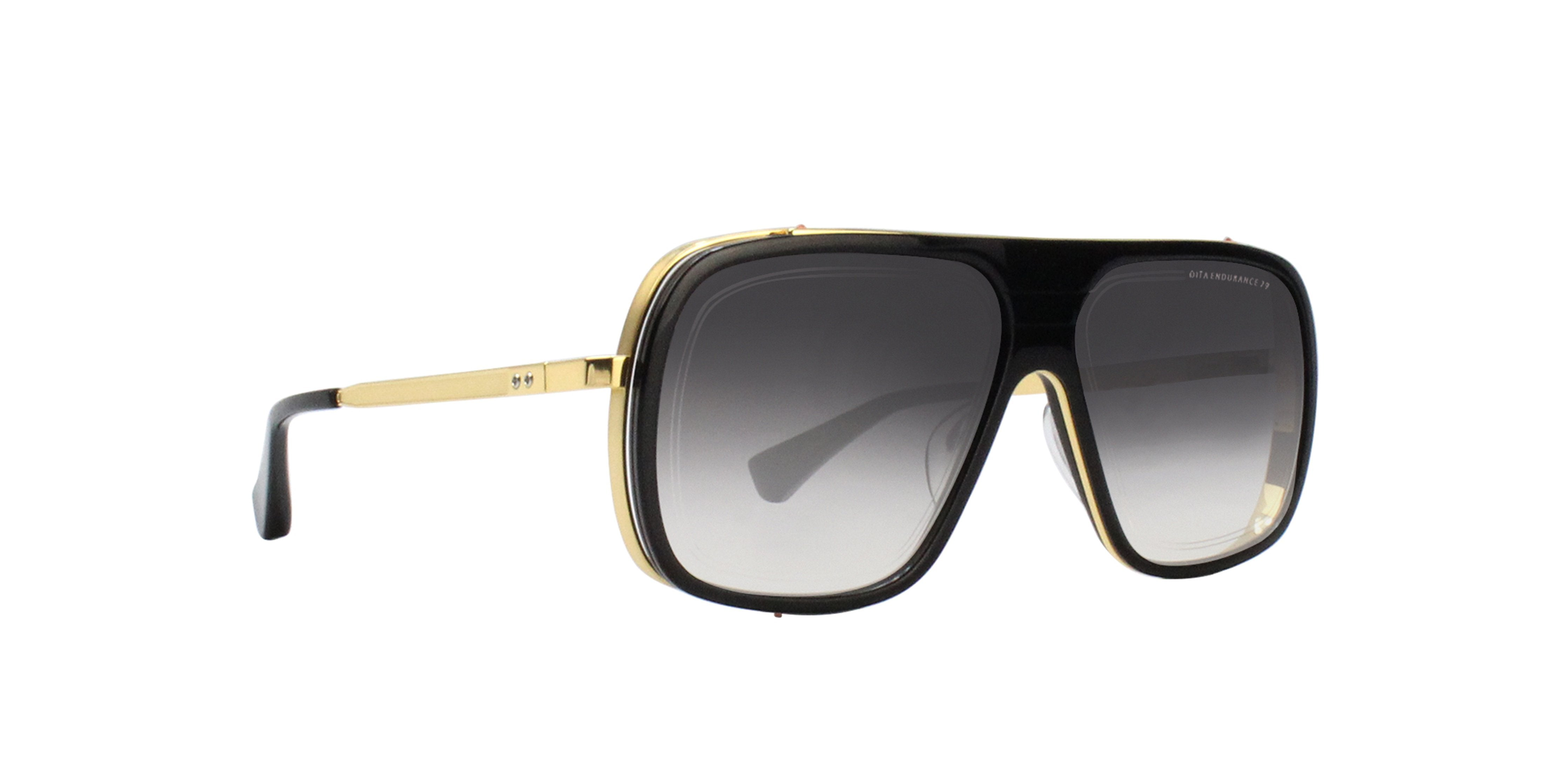 Dita - Endurance 79 Black Gold Aviator Men Sunglasses - 60mm-Sunglasses-Designer Eyes