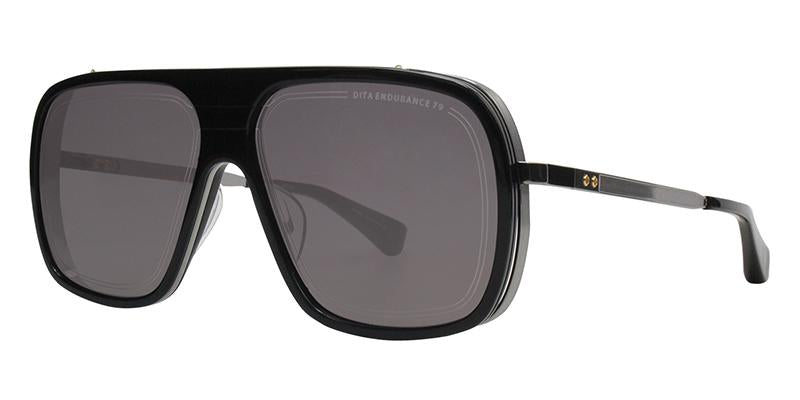 Dita - Endurance 79 Black Rectangular Men Sunglasses - 60mm-Sunglasses-Designer Eyes