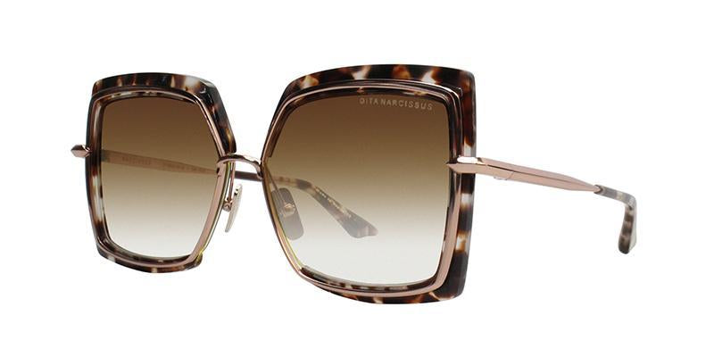Dita - NARCISSUS Tortoise Butterfly Women Sunglasses - 58mm-Sunglasses-Designer Eyes