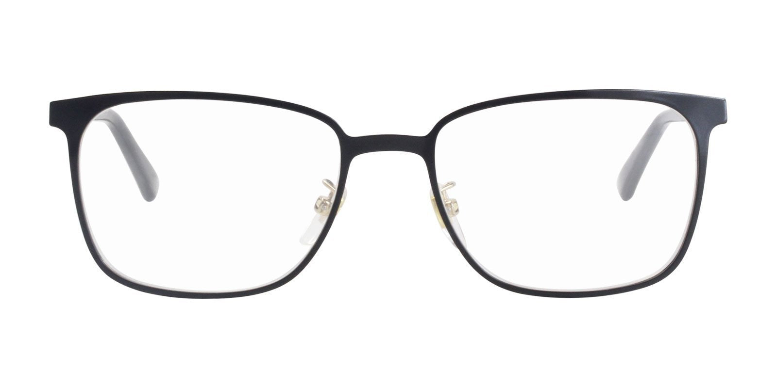 Gucci - GG0294O Black Rectangular Unisex Eyeglasses - 54mm-Eyeglasses-Designer Eyes