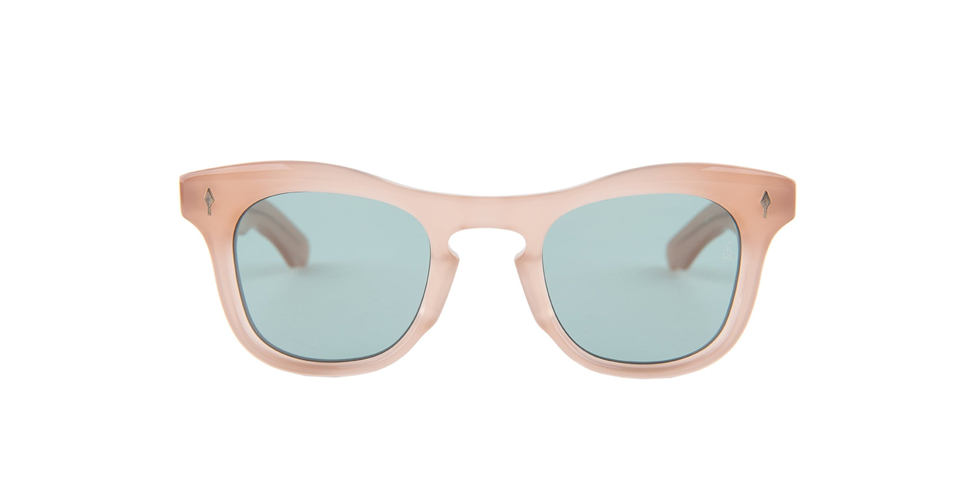 Jacques Marie Mage - Dorothy Pink/Blue Solid Unisex Sunglasses - 41mm-Sunglasses-Designer Eyes
