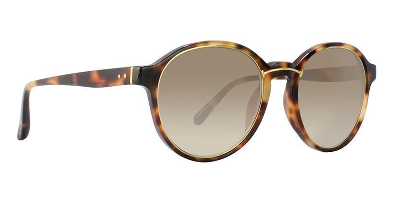 Linda Farrow - LF652 Tortoise - Brown-Sunglasses-Designer Eyes