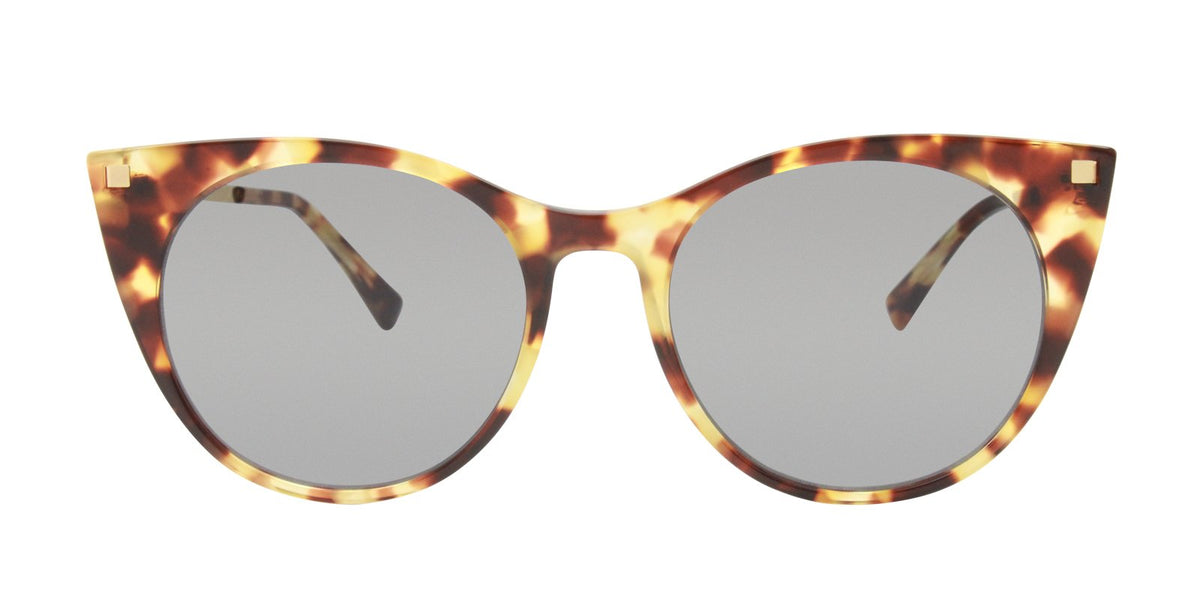 Mykita - Desna Tortoise Oval Women Sunglasses - 53mm-Sunglasses-Designer Eyes