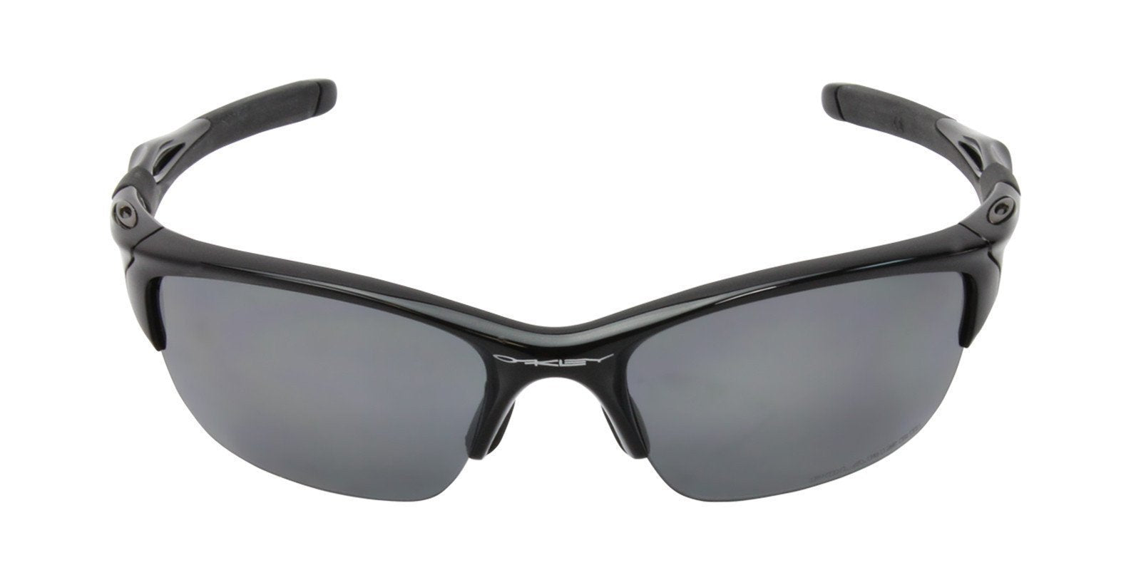 Oakley - Half Jacket 2.0 Black/Gray Rectangular Men Polarized Sunglasses - 62mm-Sunglasses-Designer Eyes