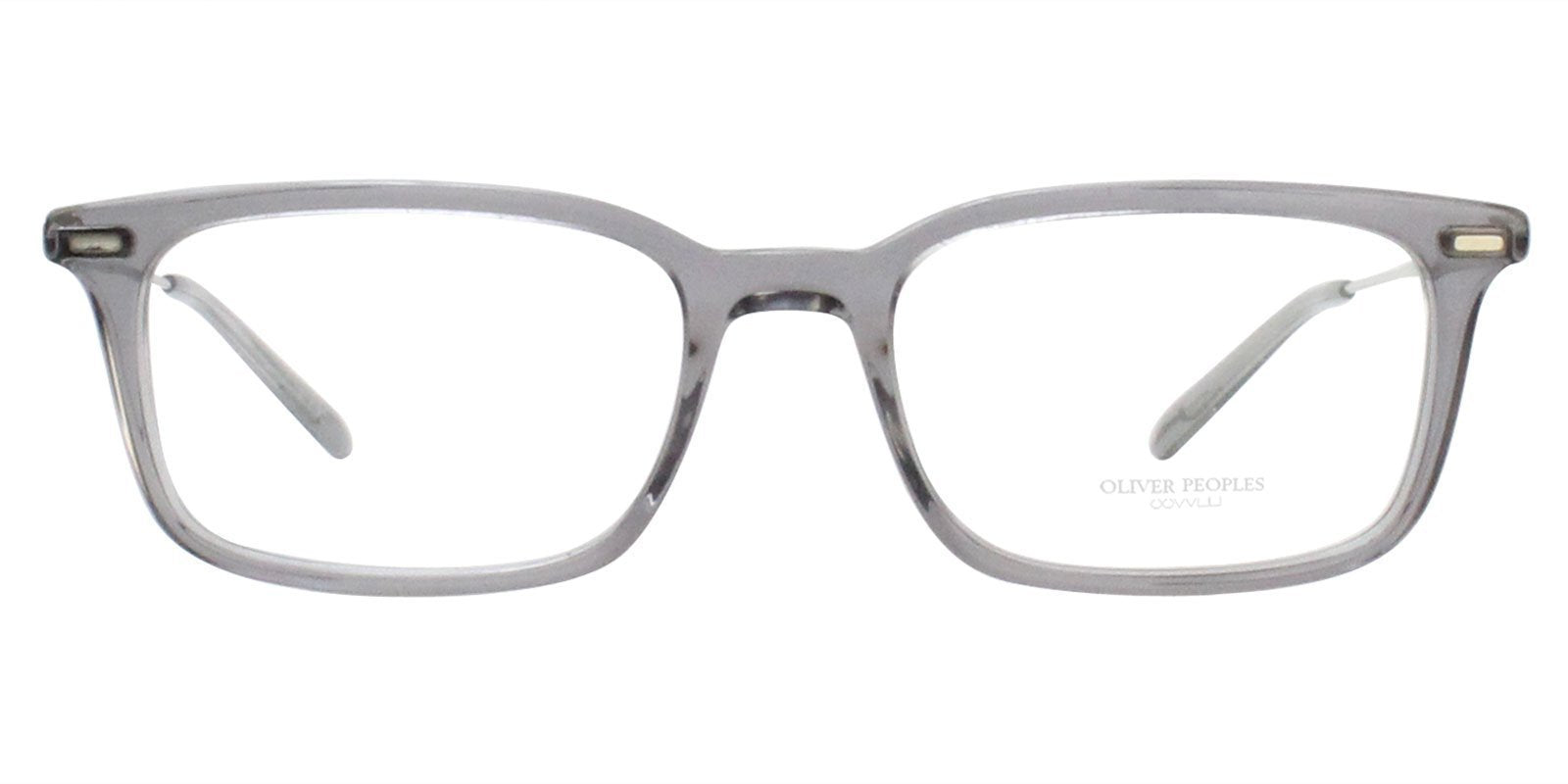 Oliver Peoples - Wexley Grey Unisex Eyeglasses - 52mm-Eyeglasses-Designer Eyes