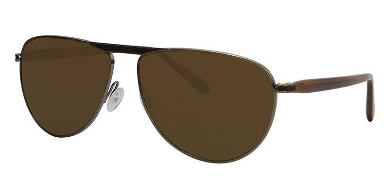 Oliver Peoples - Conduit St Gold Unisex Sunglasses - 59mm-Sunglasses-Designer Eyes