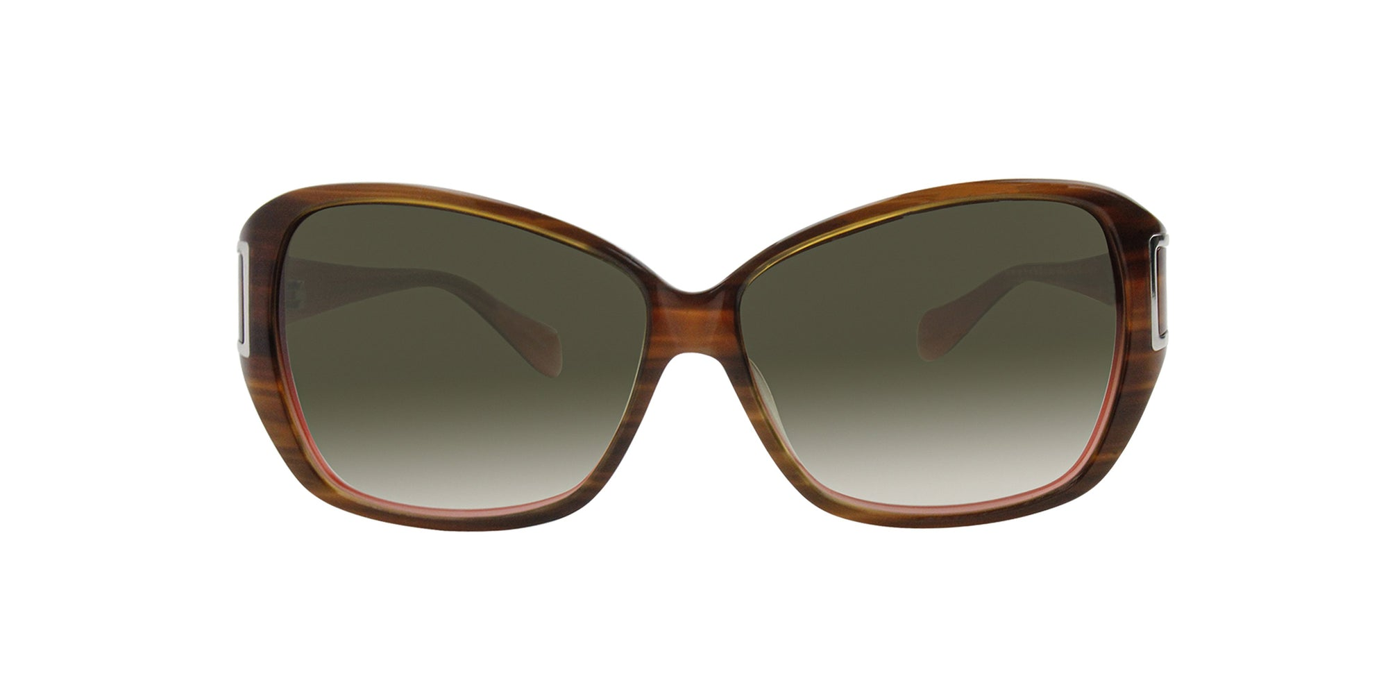 Oliver Peoples - ILSA Brown Butterfly Women Sunglasses - 60mm-Sunglasses-Designer Eyes