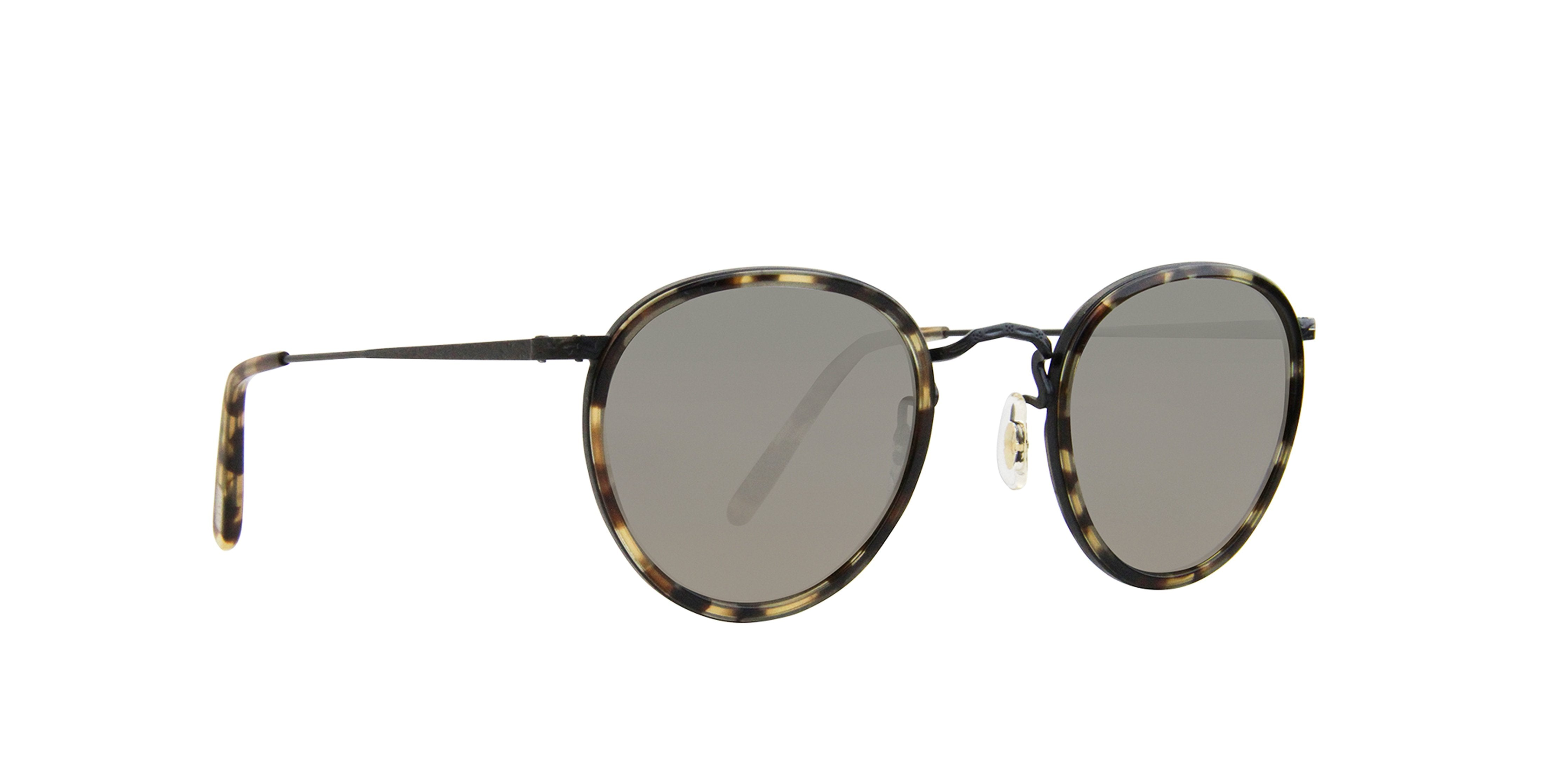 Oliver Peoples - MP-2 Tortoise Oval Unisex Sunglasses - 48mm-Sunglasses-Designer Eyes