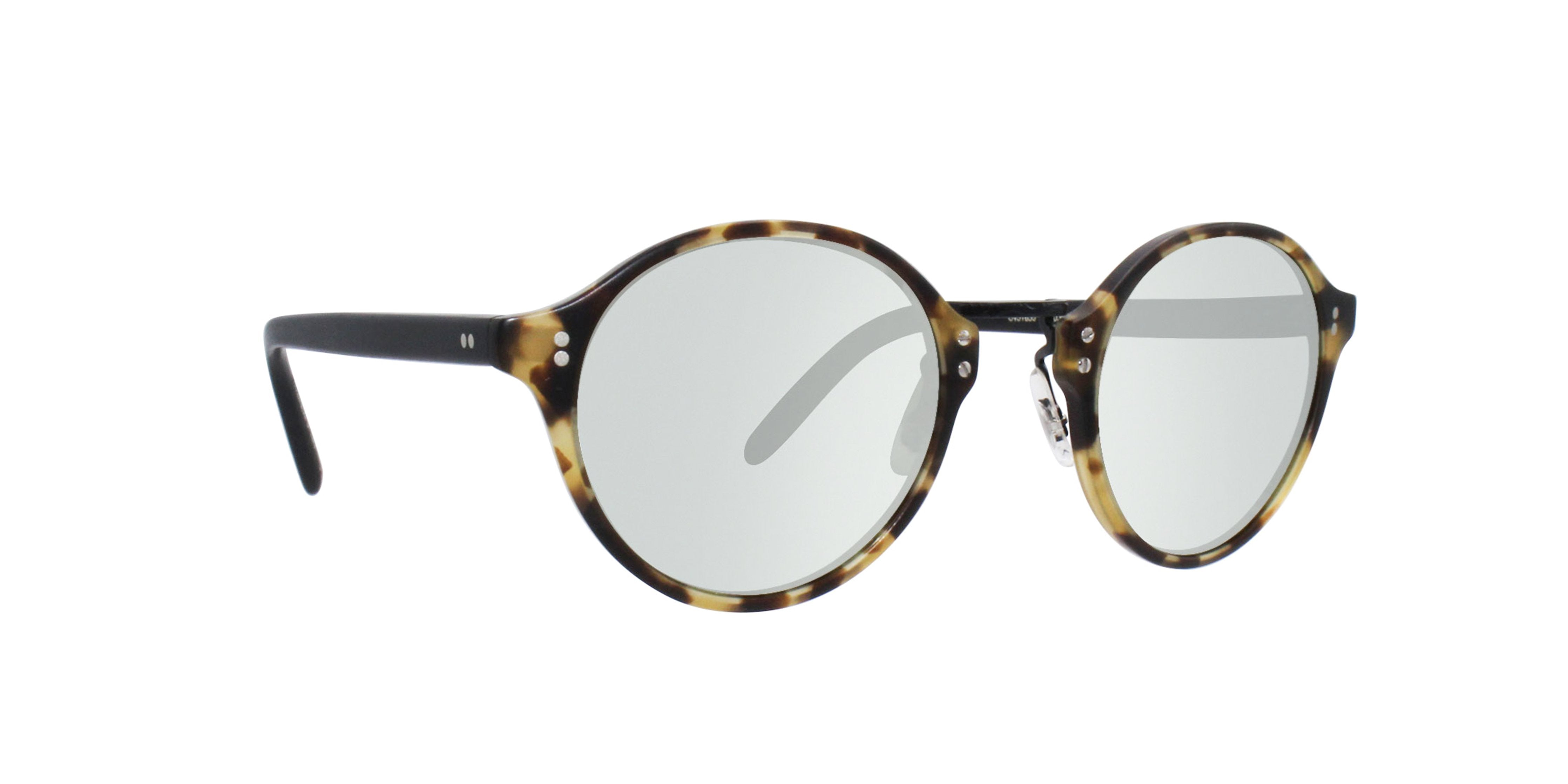 Oliver Peoples - OP-1955 Tortoise Oval Sunglasses - mm-Sunglasses-Designer Eyes