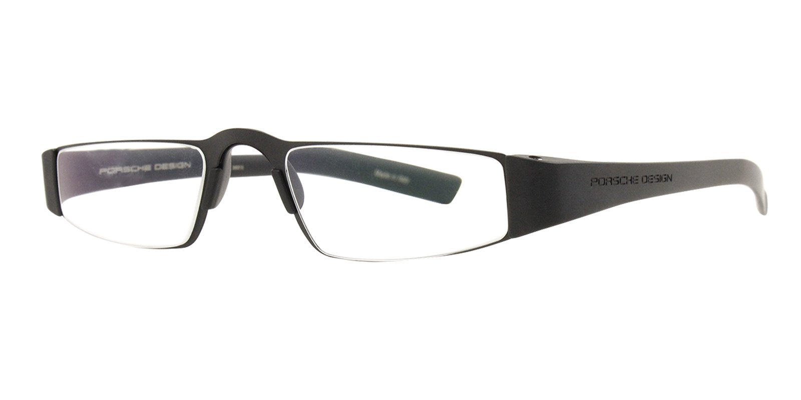 Porsche Design - P8801 +2.00 Black Readers Unisex Readers - 48mm-Readers-Designer Eyes