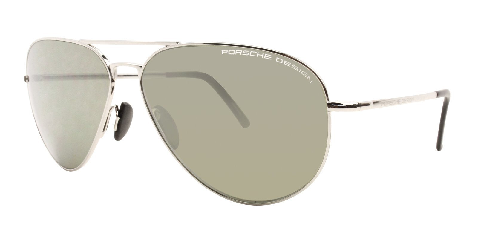 Porsche Design P8507 Silver / Gray Lens Sunglasses-Sunglasses-Designer Eyes