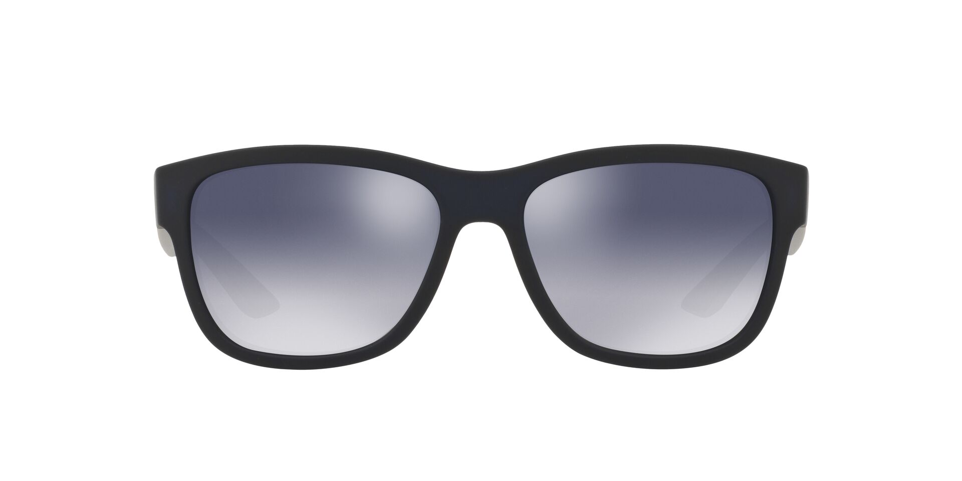 Prada Sport - PS03QS Blue Rectangular Unisex Sunglasses - 57mm-Sunglasses-Designer Eyes