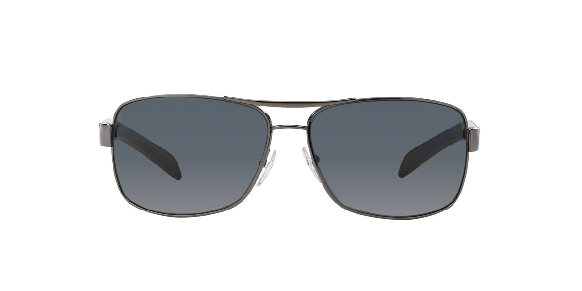 Prada Sport - PS54IS Gray Aviator Men Sunglasses - 65mm-Sunglasses-Designer Eyes