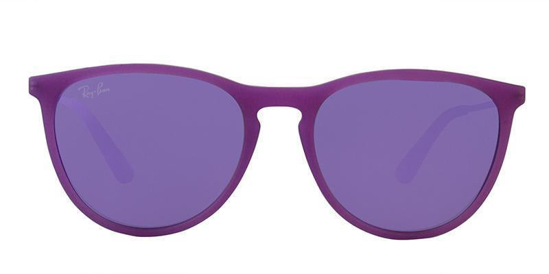 Ray Ban Jr - RJ9060S Purple Aviator Kids Sunglasses - 50mm-Sunglasses-Designer Eyes