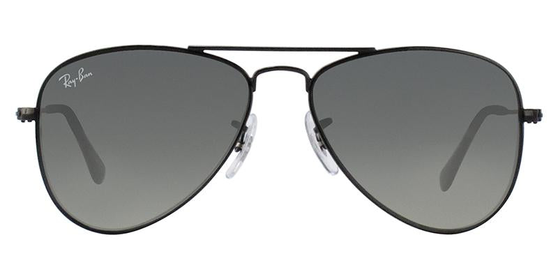 Ray Ban Jr - RJ9506S Black Aviator Kids Sunglasses - 50mm-Sunglasses-Designer Eyes