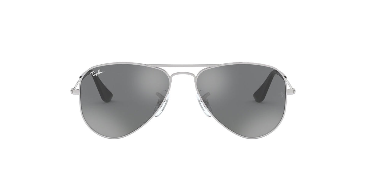 Ray Ban Jr - RJ9506S Silver Aviator Kids Sunglasses - 50mm-Sunglasses-Designer Eyes