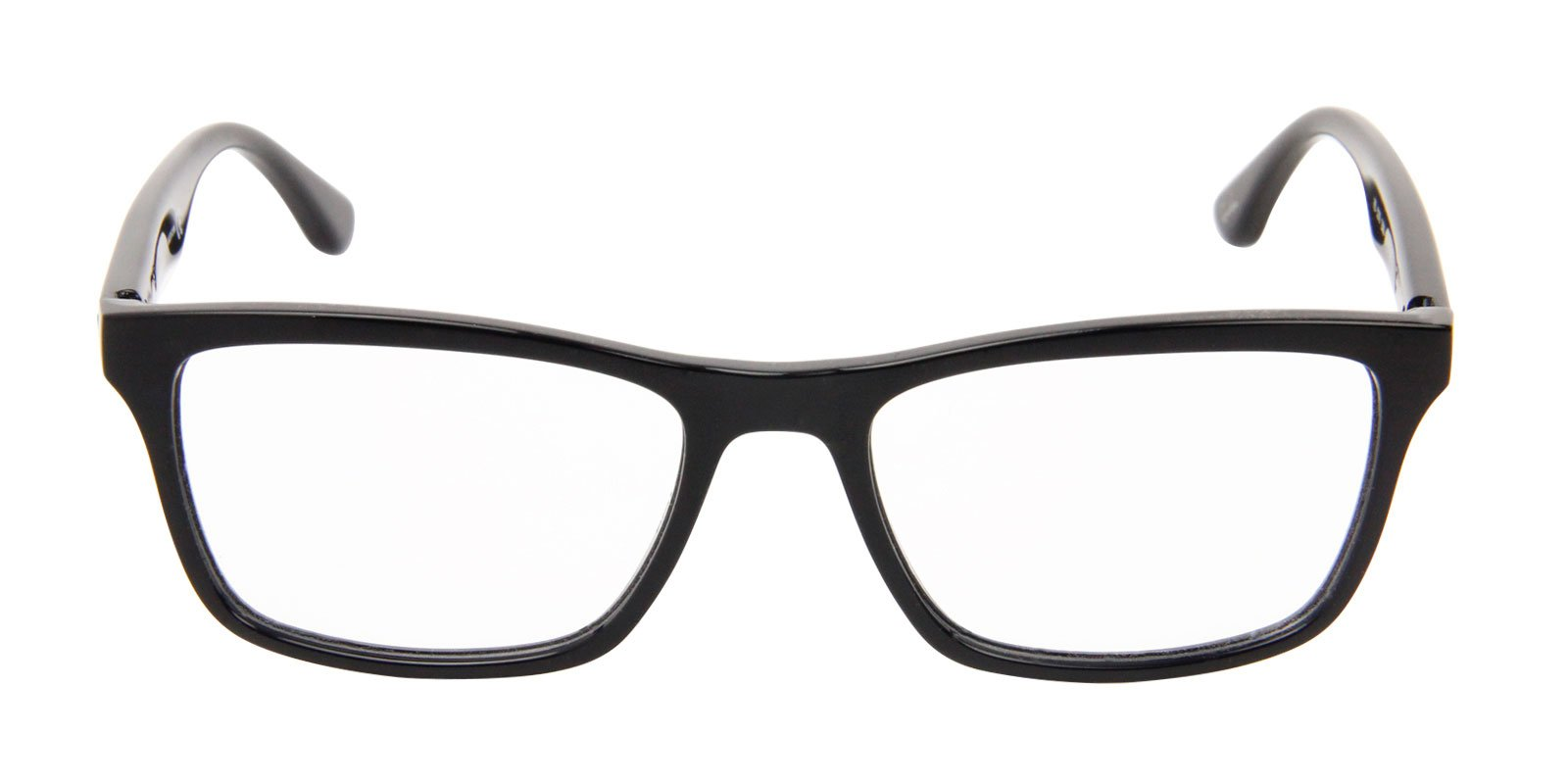 Ray Ban Rx - RX5279 Black Rectangular Men Eyeglasses - 55mm-Eyeglasses-Designer Eyes