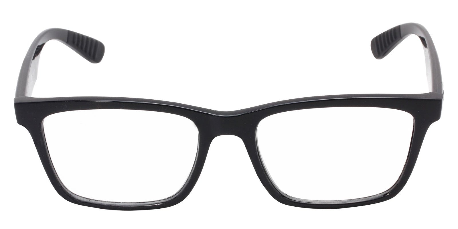 Ray Ban Rx - RX7025 Black Rectangular Men, Women Eyeglasses - 55mm-Eyeglasses-Designer Eyes