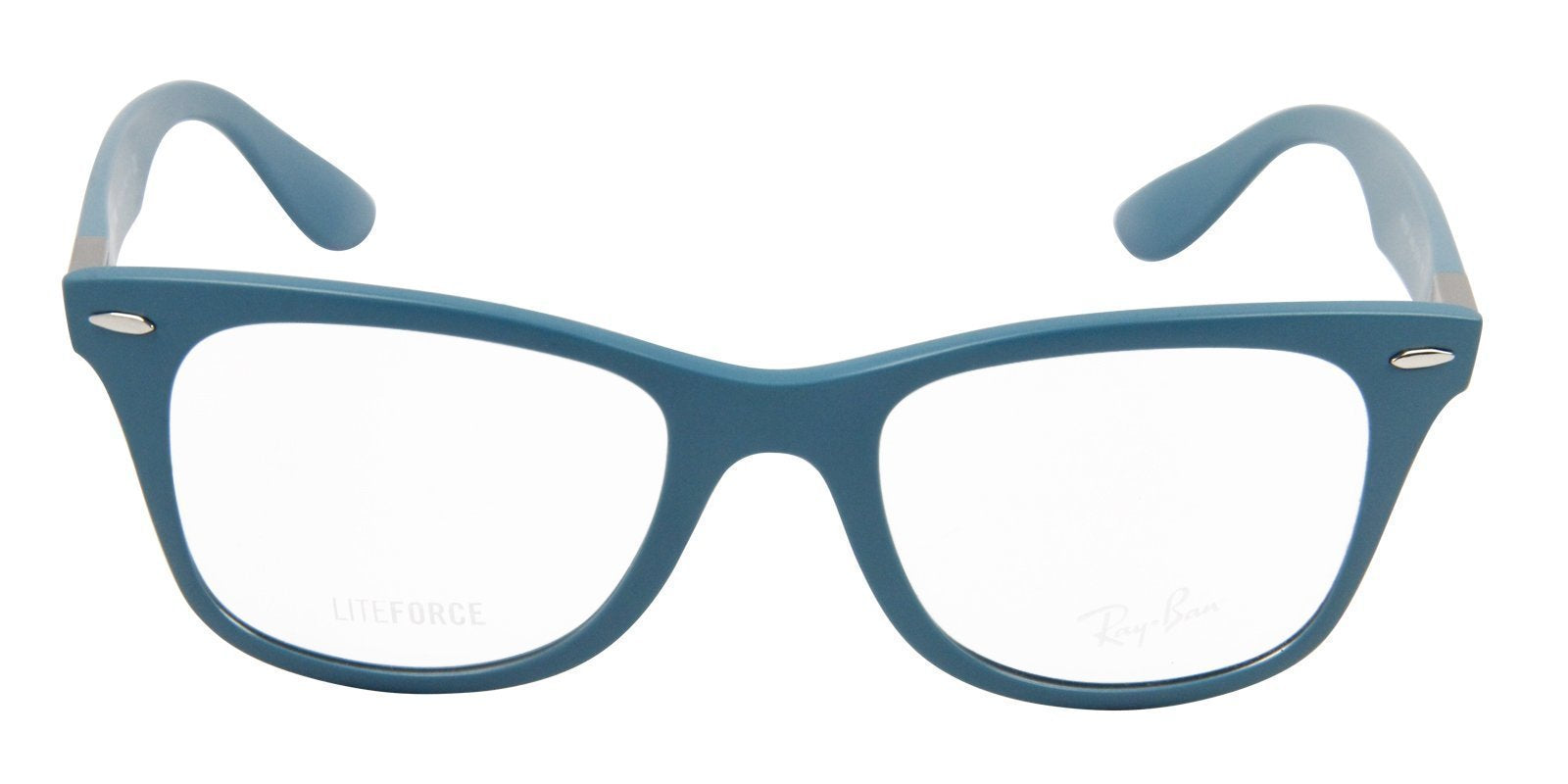 Ray Ban Rx - RX7034 Blue Oval Unisex Eyeglasses - 50mm-Eyeglasses-Designer Eyes