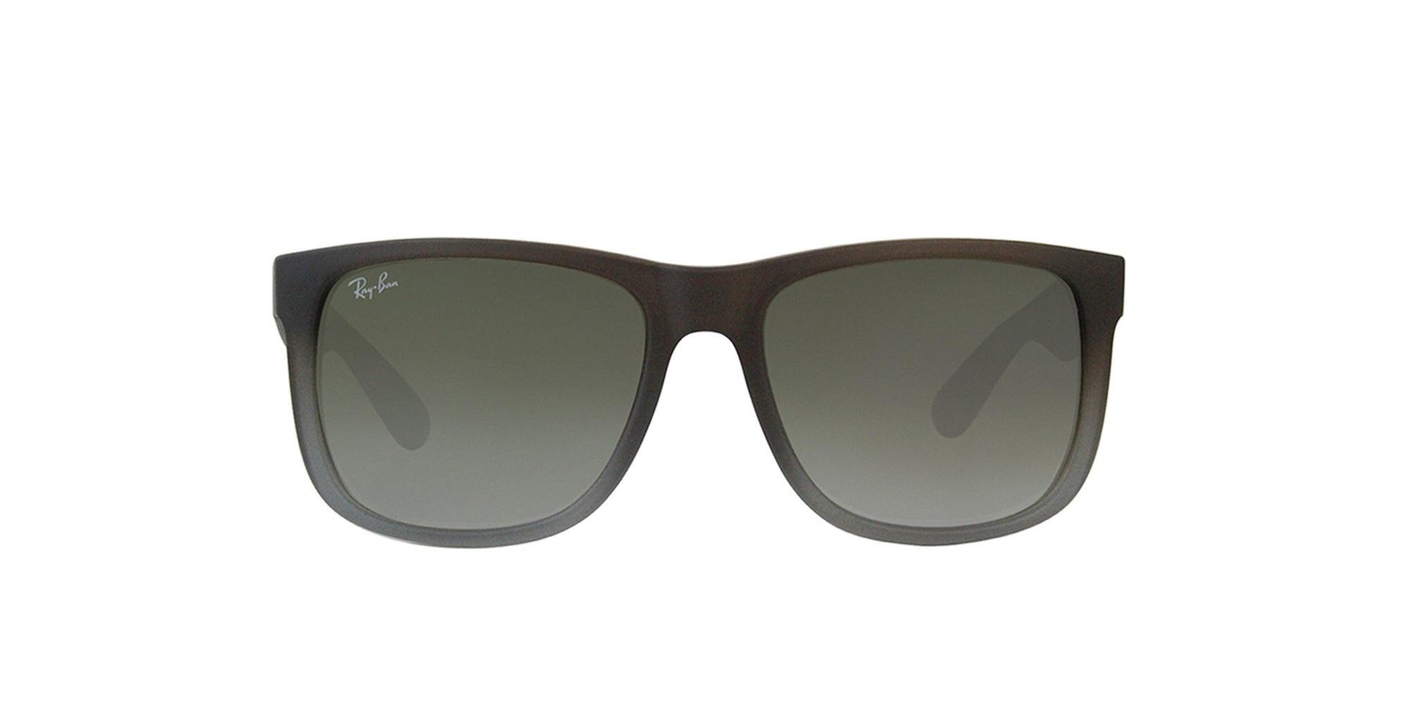 Ray Ban - Justin Brown Rectangular Unisex Sunglasses - 54mm-Sunglasses-Designer Eyes