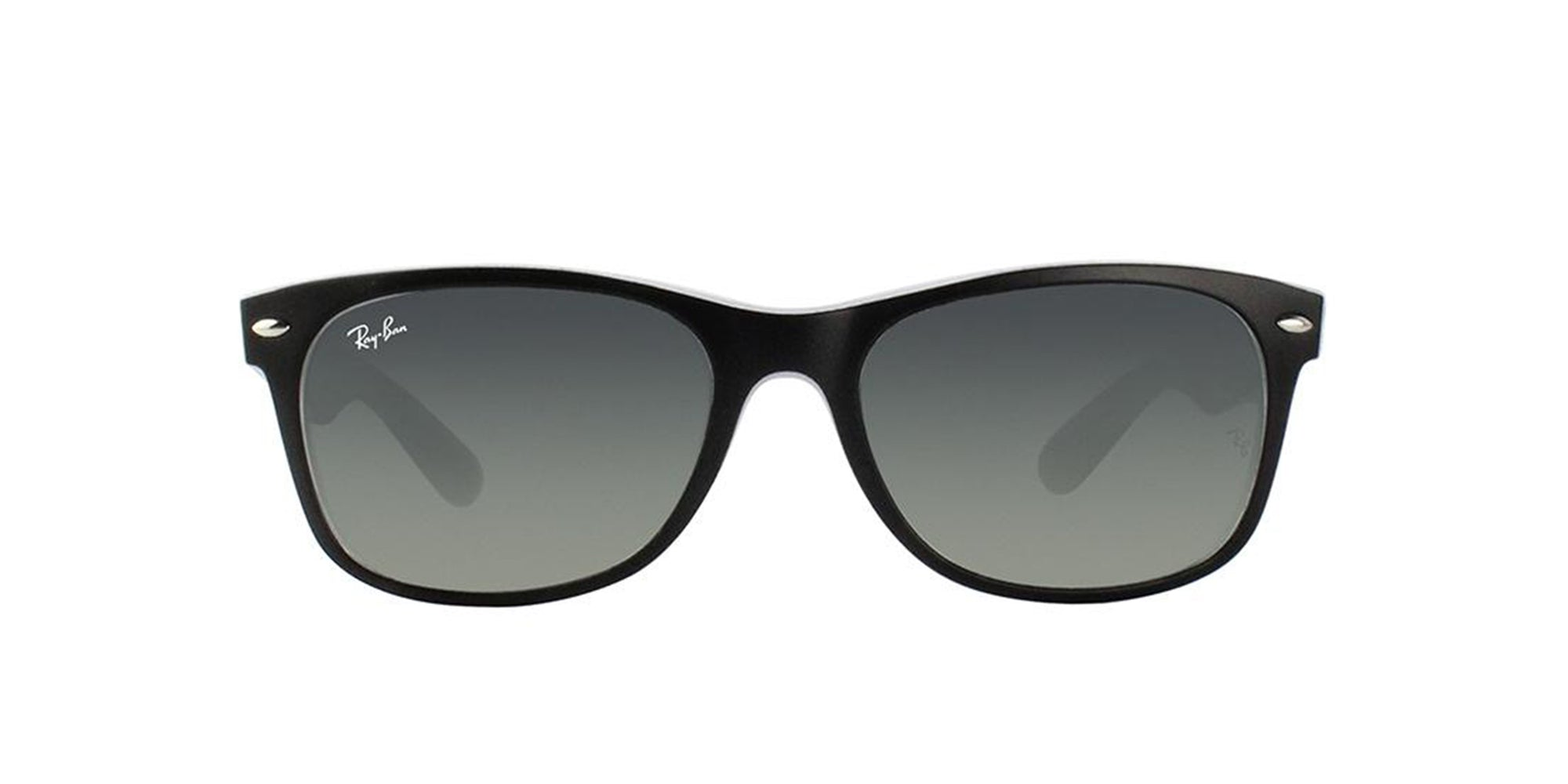 Ray Ban - New Wayfarer Black Wayfarer Women Sunglasses - 55mm-Sunglasses-Designer Eyes