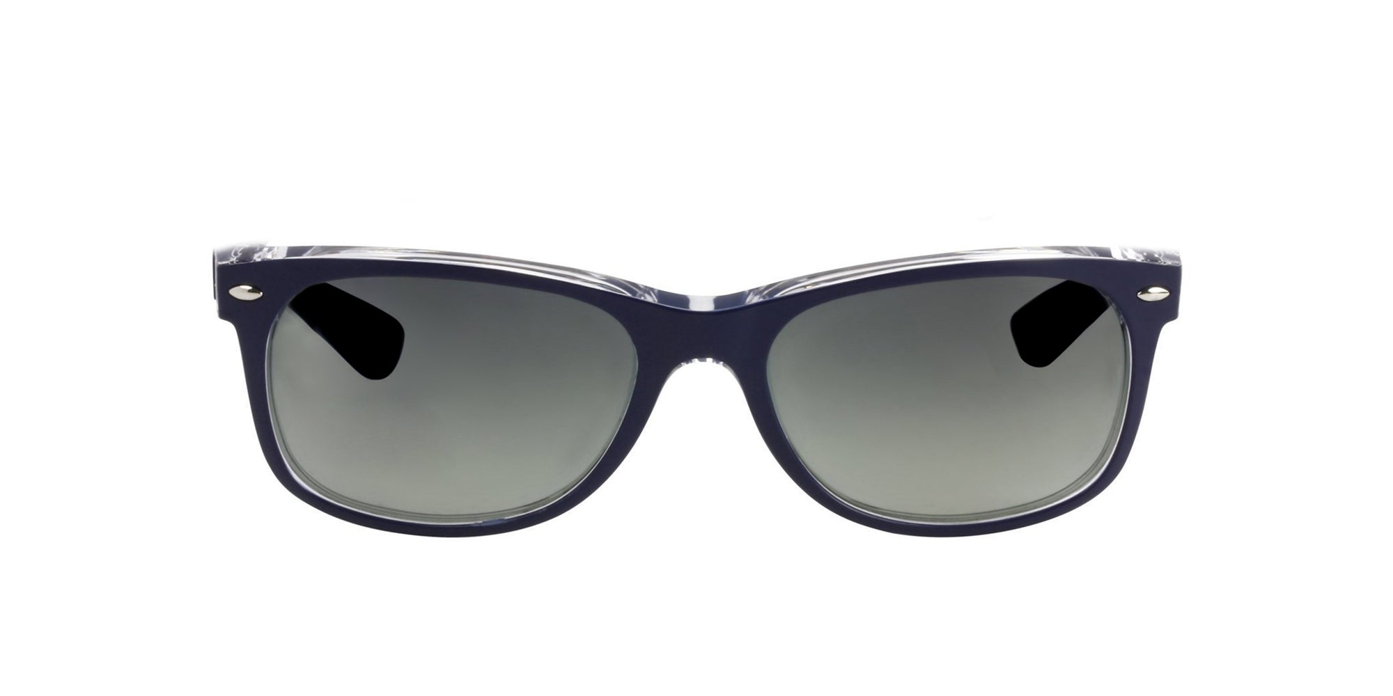 Ray Ban - New Wayfarer Blue Wayfarer Men Sunglasses - 55mm-Sunglasses-Designer Eyes