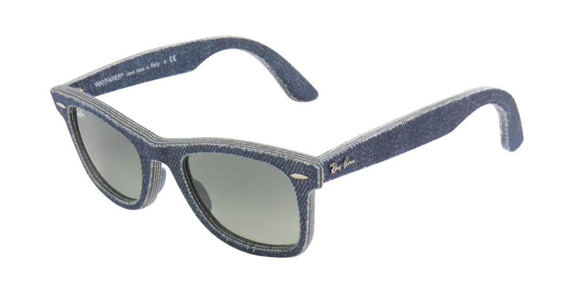 Ray Ban - Original Wayfarer Blue Wayfarer Unisex Sunglasses - 50mm-Sunglasses-Designer Eyes