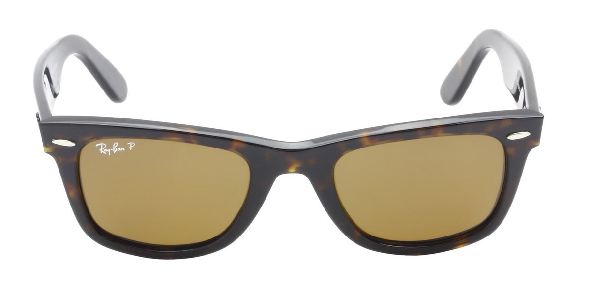 Ray Ban - Original Wayfarer Tortoise Wayfarer Unisex Sunglasses - 50mm-Sunglasses-Designer Eyes