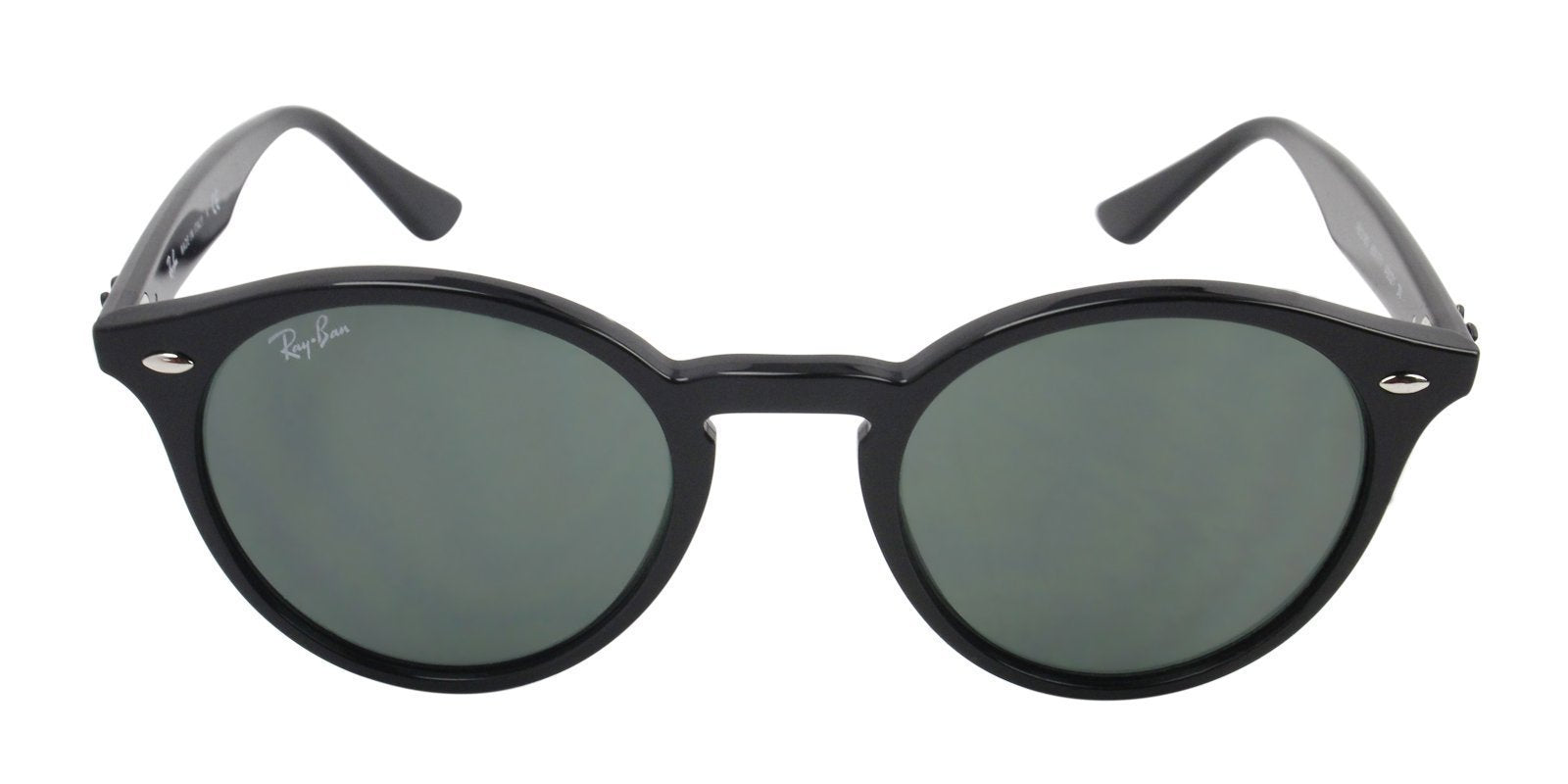 Ray Ban - RB2180 Black Oval Men Sunglasses - 50mm-Sunglasses-Designer Eyes