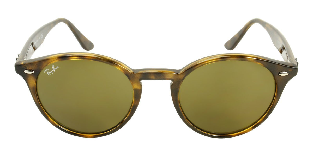 Ray Ban - RB2180 Tortoise Oval Unisex Sunglasses - 51mm-Sunglasses-Designer Eyes