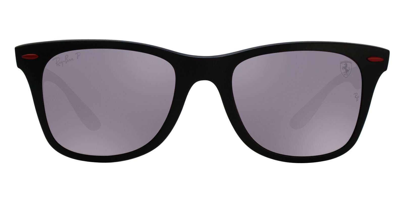 Ray Ban - RB4195M Matte Black Wayfarer Unisex Sunglasses - 52mm-Sunglasses-Designer Eyes