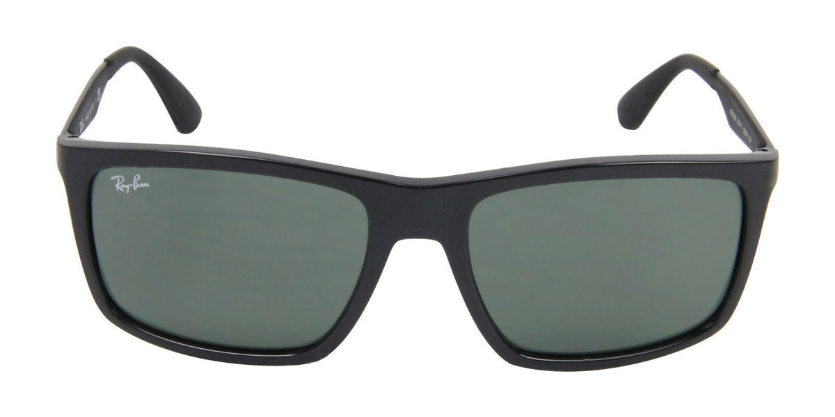 Ray Ban - RB4228 Black Rectangular Men Sunglasses - 58mm-Sunglasses-Designer Eyes