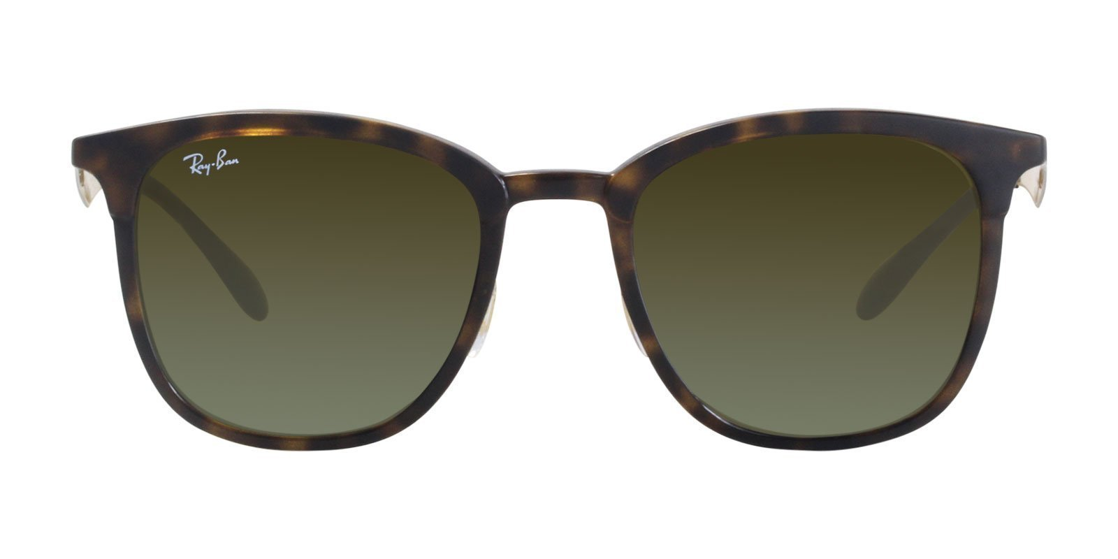 Ray Ban - RB4278 Tortoise Oval Unisex Sunglasses - 51mm-Sunglasses-Designer Eyes