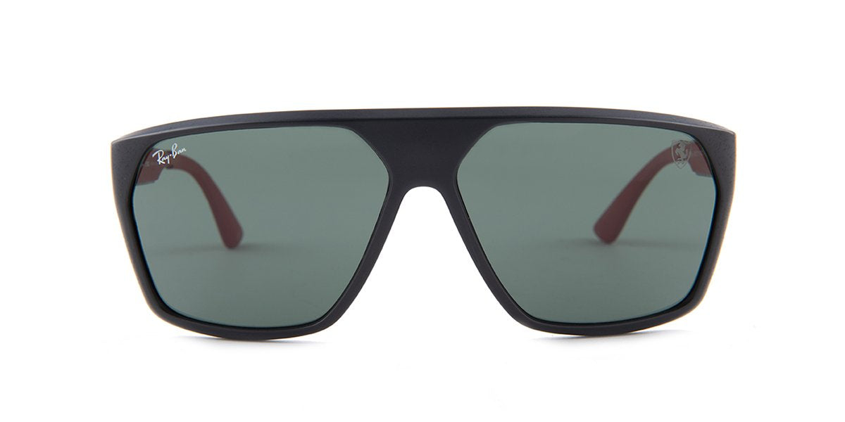 Ray Ban - RB4309M Black Square Men Sunglasses - 61mm-Sunglasses-Designer Eyes