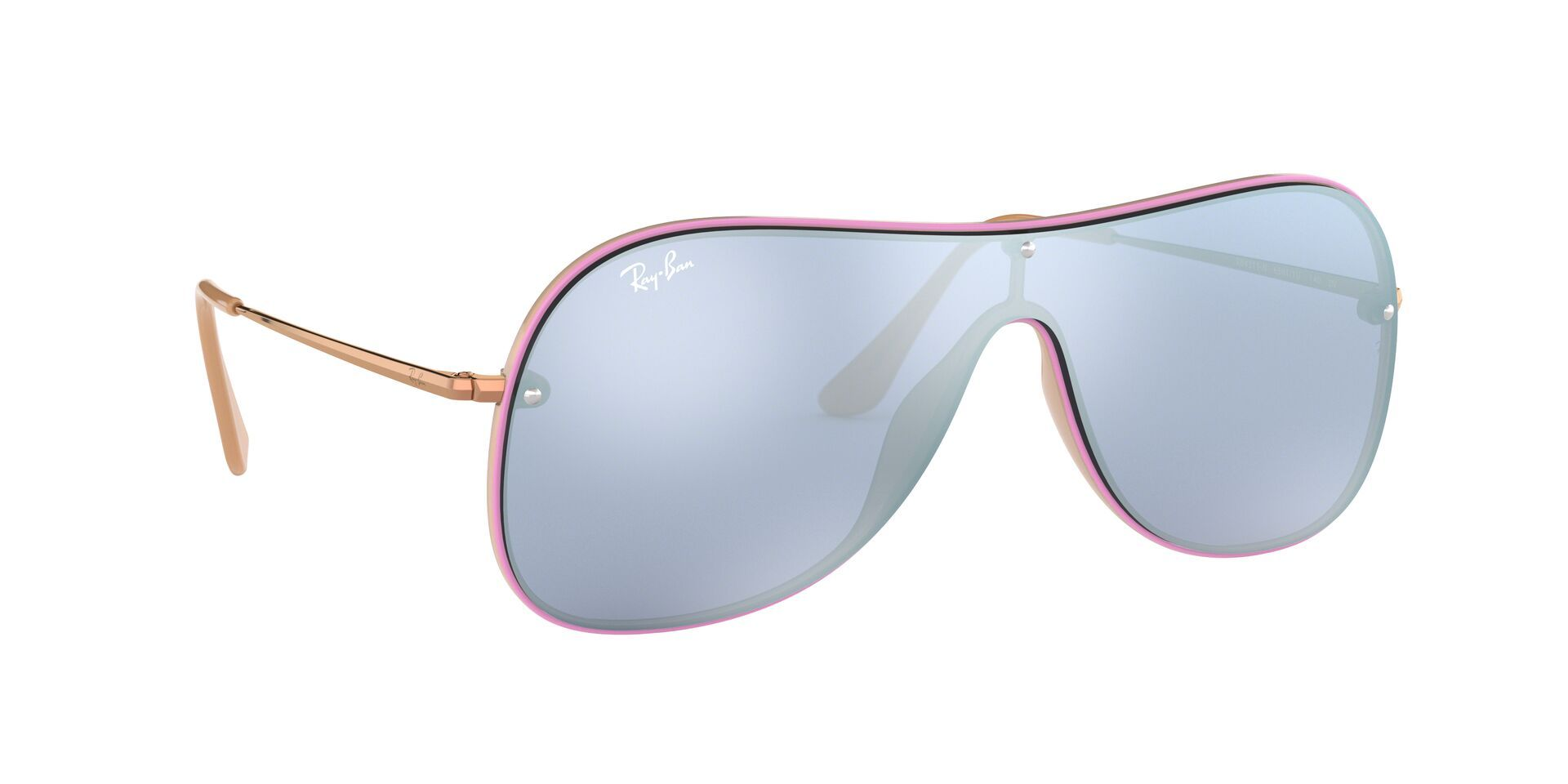 Ray Ban - RB4311-N Violet Shield Women Sunglasses - mm-Sunglasses-Designer Eyes