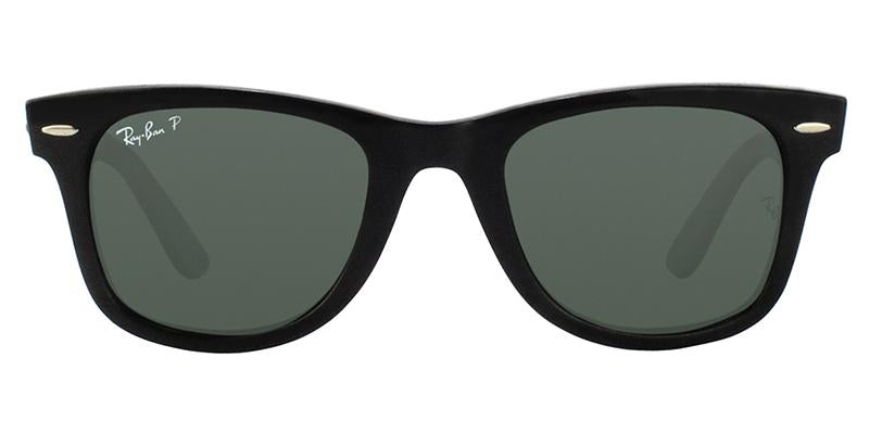 Ray Ban - RB4340 Black Wayfarer Unisex Sunglasses - 50mm-Sunglasses-Designer Eyes