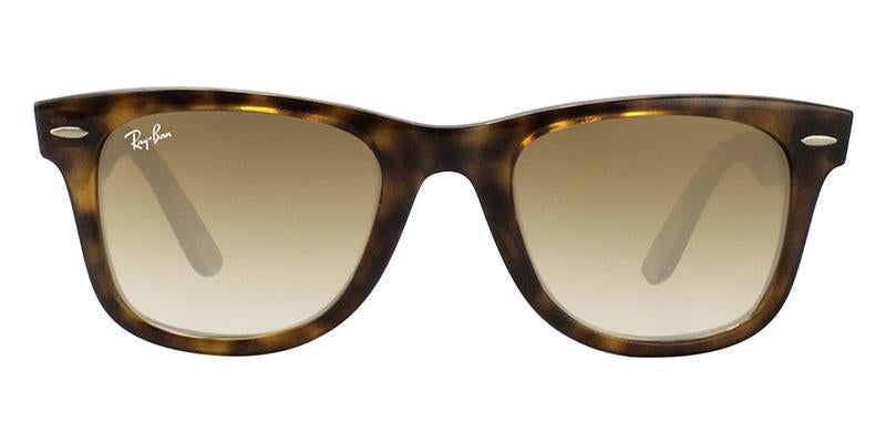 Ray Ban - RB4340 Tortoise Wayfarer Unisex Sunglasses - 50mm-Sunglasses-Designer Eyes