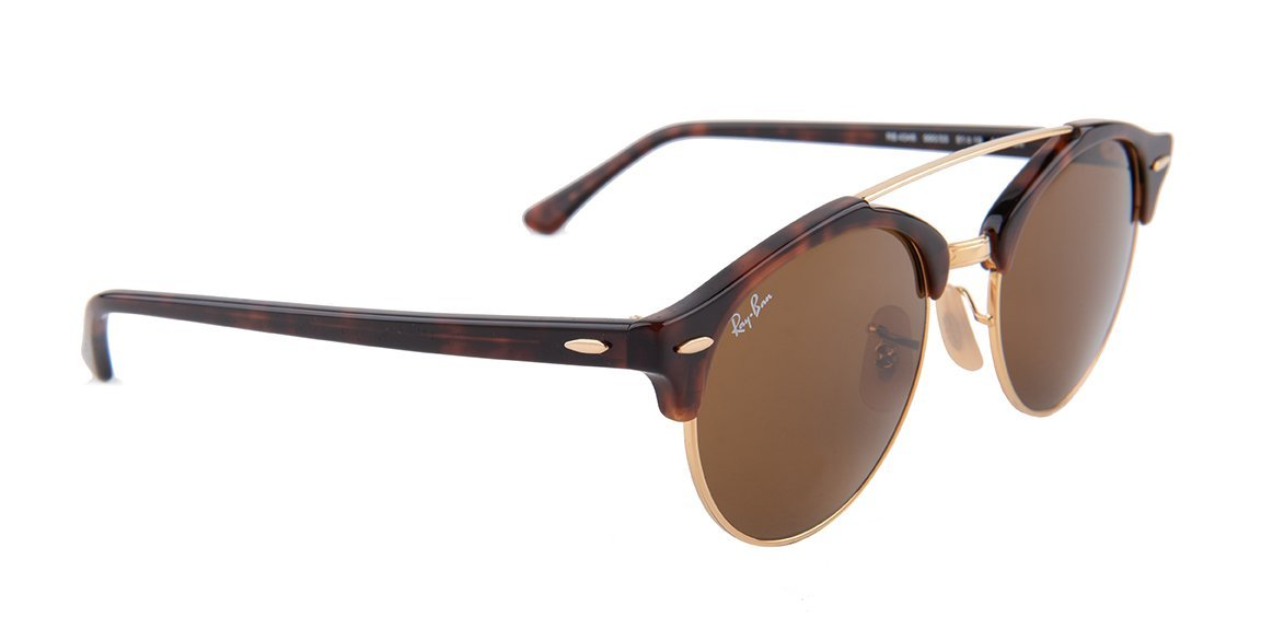 Ray Ban - RB4346 Tortoise Oval Unisex Sunglasses - 51mm-Sunglasses-Designer Eyes