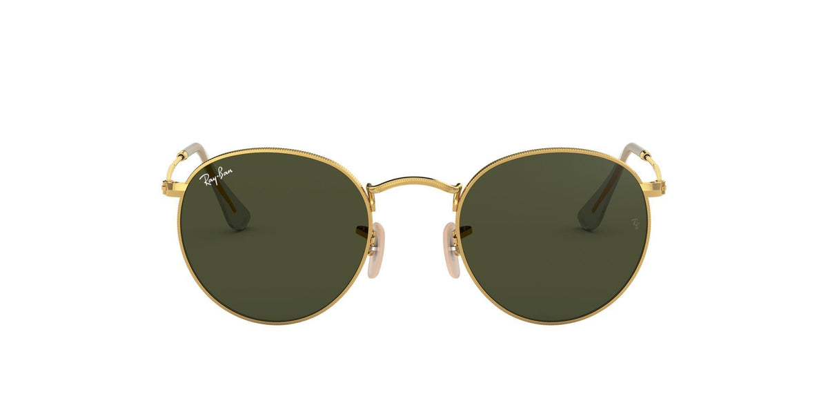 Ray Ban - Round Metal Arista Phantos Men Sunglasses - 53mm-Sunglasses-Designer Eyes