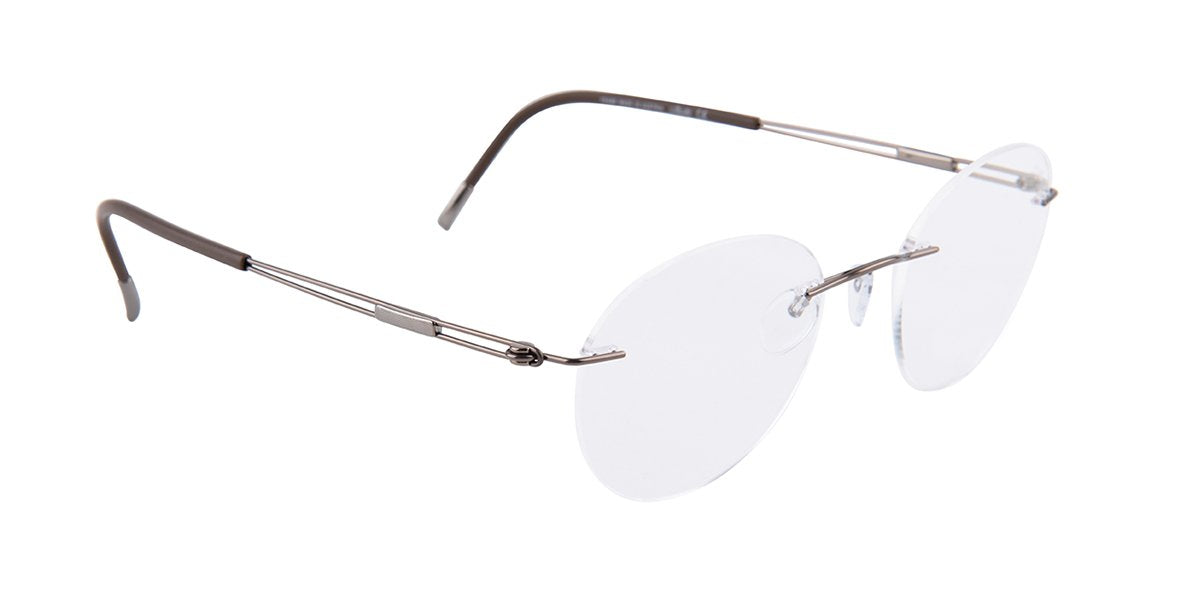 Silhouette - 5521 Brown-eyeglasses-Designer Eyes