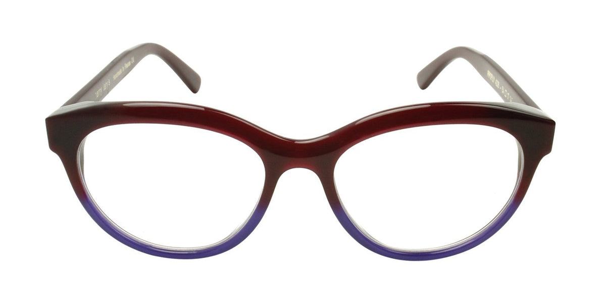 Thierry Lasry - Profily Red Oval Women Eyeglasses - 54mm-Eyeglasses-Designer Eyes