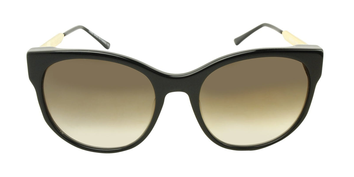 Thierry Lasry - Anorexxxy Black Oval Women Sunglasses - 56mm-Sunglasses-Designer Eyes