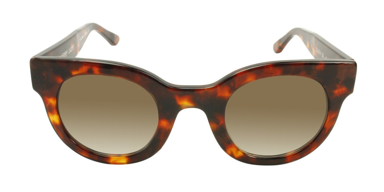 Thierry Lasry - Celebrity Tortoise Oval Women Sunglasses - 50mm-Sunglasses-Designer Eyes