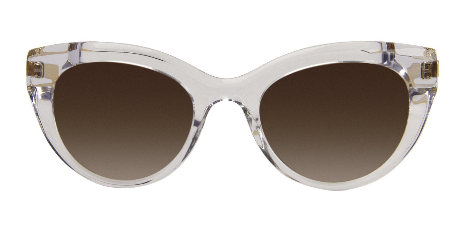 Thierry Lasry - Diamondy Clear Cat-Eye Women Sunglasses - 53mm-Sunglasses-Designer Eyes