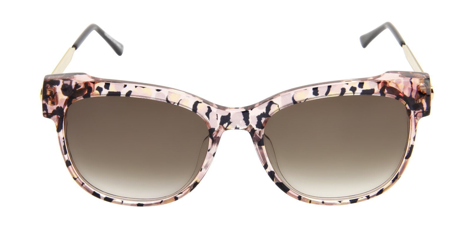 Thierry Lasry - Lippy Pink Oval Women Sunglasses - 56mm-Sunglasses-Designer Eyes