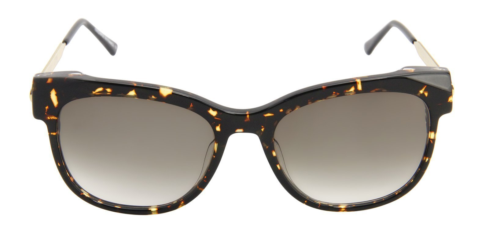 Thierry Lasry - Lippy Tortoise Oval Women Sunglasses - 56mm-Sunglasses-Designer Eyes