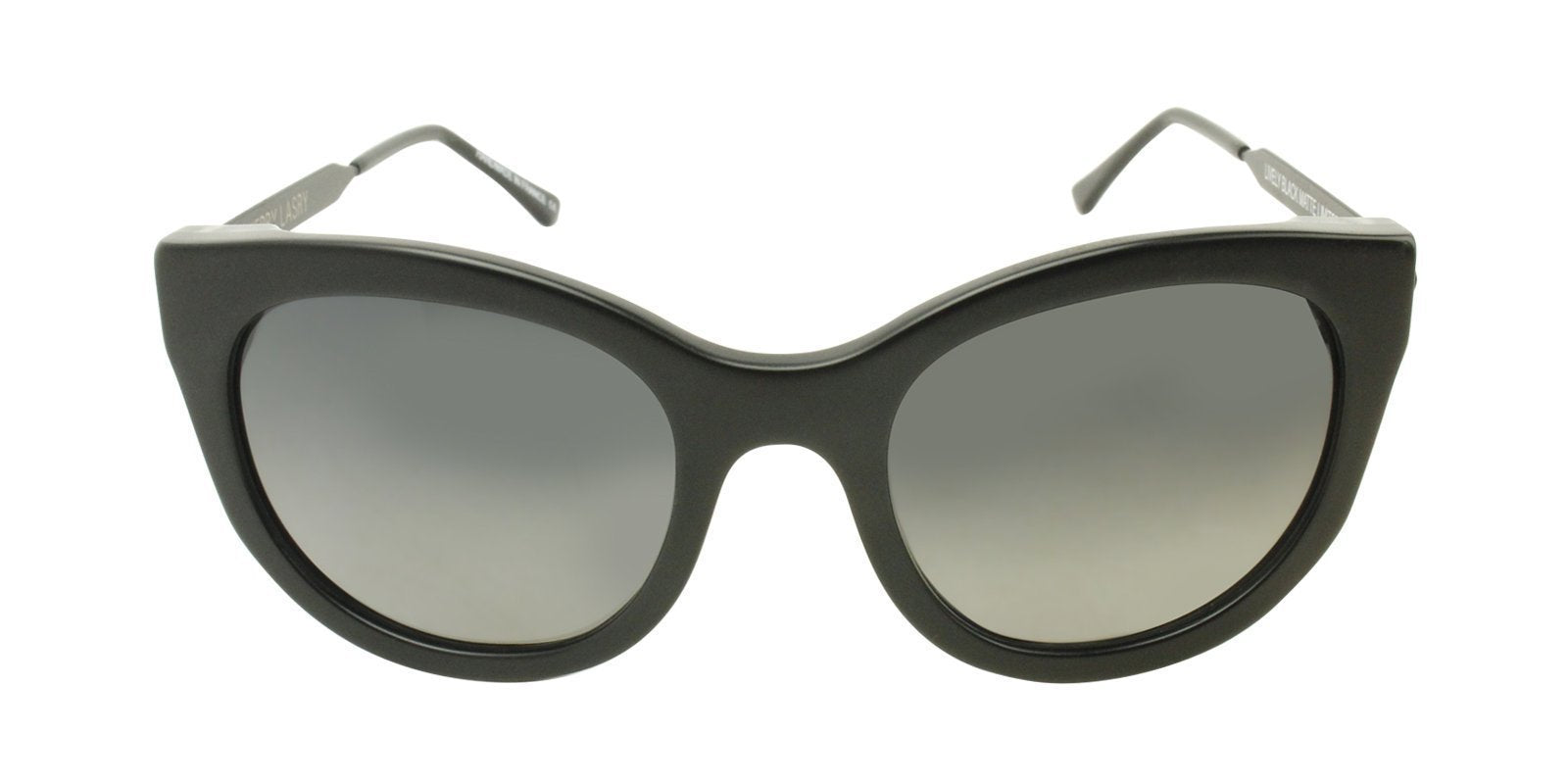 Thierry Lasry - Lively Black Cat-Eye Women Sunglasses - mm-Sunglasses-Designer Eyes