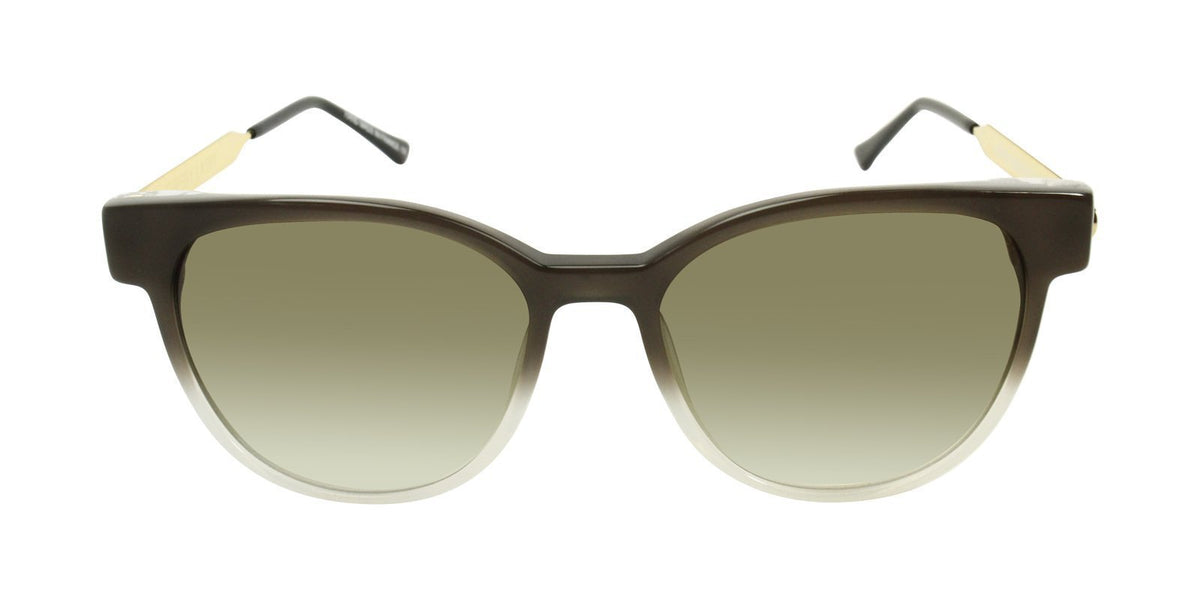 Thierry Lasry - Perfidy Brown Oval Women Sunglasses - 56mm-Sunglasses-Designer Eyes